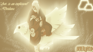 Deidara Wallpaper by MelodyShoushi