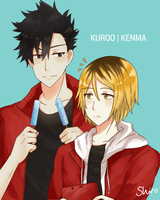 Here, this if for you Kenma by BlackTwin-Shiro