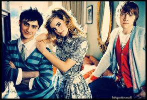 Potter Trio 4 Teen Vouge by TurtlespritePotter
