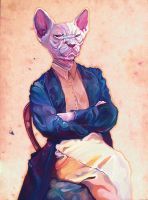 Gentleman Sphynx by reminisense