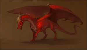 Pyro- fire dragon by Allagar