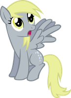 Derpy Hooves - My Little Pony Vector by Rireth