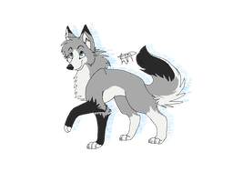 If I was a husky by LunaThePuppeh