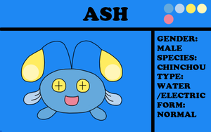 Ash the Chinchou by TheChiefofTime