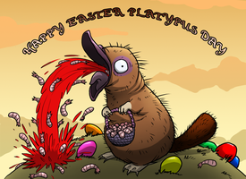 Happy Easter Platypus Day! by Scypod