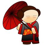 Geisha with umbrella by Tsunade-Hime-TtoS