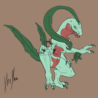 Grovyle (Flat color)