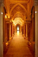 Monserrate Palace  (interior view) by Boias