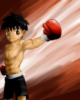 Boxing kid by P-KC