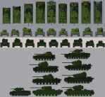 KV-4 collection ortho view by Giganaut