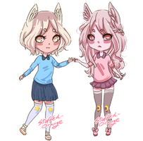 Open: Pastel cuties by Stuffed-orange