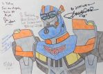 Auto Assembly 2014 - My Signed Pic Of TFA Sentinel by HealerCharm