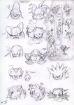 sonic and others sketch by Faezza