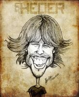 Jon Heder - Caricature by libran005