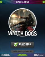 Watch Dogs Icon by tRiBaLmArKiNgS