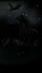 Chasing Ravens by Elemes