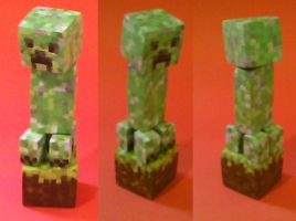 Creeper Sculpture by lil-tim