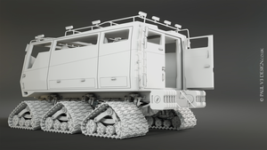 Sno-Fox Cat Exterior - WIP by PaulV3Design