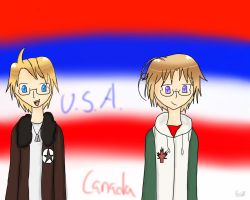 America Bros WP For Computer by xenul001