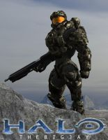 Master Chief by cgartiste