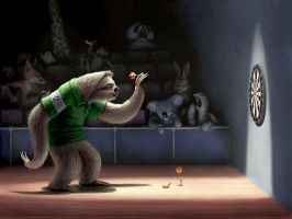 Sloth Darts by BenHartnett