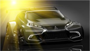 Mitsubishi opening new XR-PHEV concept by Topas2012