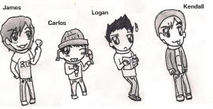 Big Time Rush by sclirada