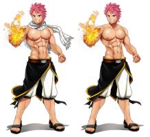 Commission: Natsu by Ernz1318