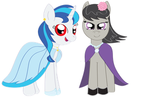 Scratch and Tavi's Fancy Clothes by LumenGlace