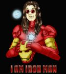 I Am Iron Man by elchavoman