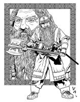 Gimli inks by quibly