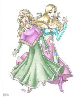 W.i.t.c.h.: Cornelia and Elyon by frandemartino