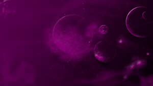 iMac Wallpaper Pink in Space by WDWParksGal
