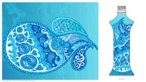 art water paisley by artserge