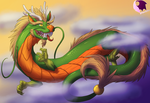 Wiggly Noddle Dragons by phoenixbat
