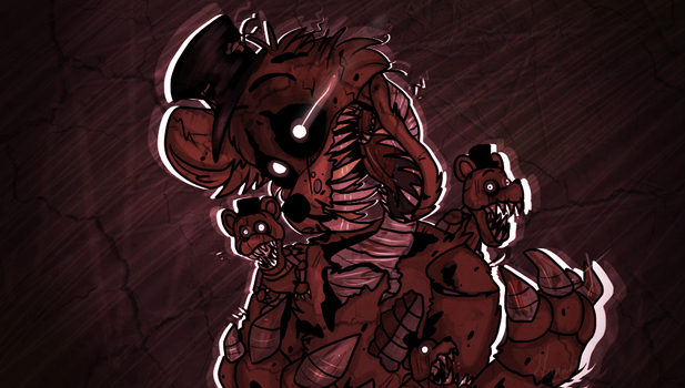Nightmare Freddy - FNAF 4 by Choco-Floof