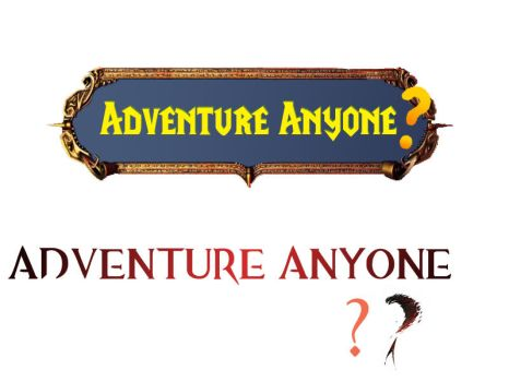 Adventure Anyone Logo Comparison by Ivan-Causey