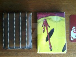 Watchmen ''Bloodstained Smiley Face'' Comic Wallet by toadking07