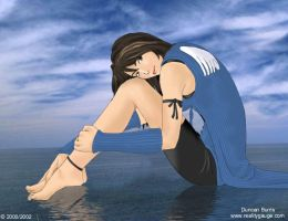 Rinoa on water by Gleis