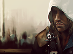 Captain Edward Kenway - speedpaint by TheOnePandemonium
