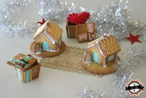 Cookie Christmas house by RiYuPai