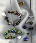 Critter Lampwork Beads by tiannei