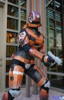 Never Corner a Spartan by RoxyRoo