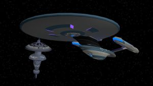 USS Excelsior NX-2000 Alternate Reality by Marksman104