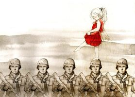 Seven Nation Army by elia-illustration
