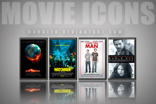 Movie DVD Icons 26 by manueek