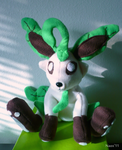 Plush Leafeon by naox