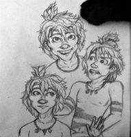 The Croods- Guy Sketchdump by Michi1223