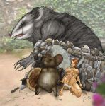 Possum vs Mouse Guard by Selkirk (COLORS) by carol-colors