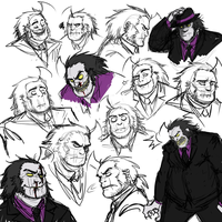that's a lot of faces, Eustal by Contramonster